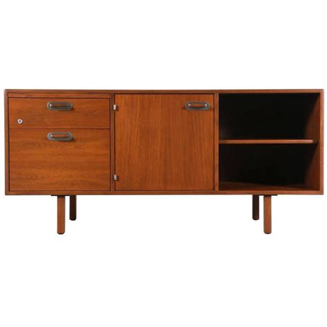 low profile credenza mid century low profile credenza by jens risom at 1stdibs