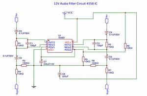 Bass Treble Circuit Diagram 4558