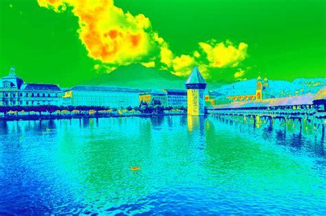 lunapic   photo editor thermal iridescence