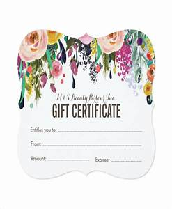 salon gift certificate template 9 free pdf psd ai With salon gift certificate template free download