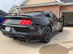 6th Generation Black 2018 Ford Mustang Gt V8 Manual For