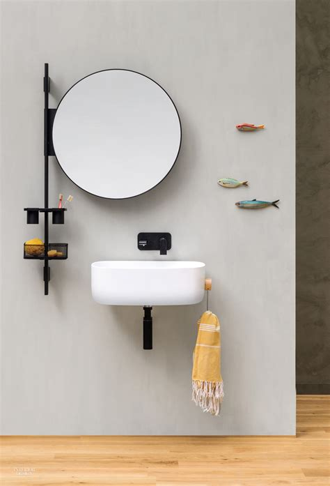 handy vertical bath storage  monica graffeo