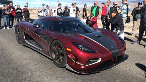 Koenigsegg Agera Rs Top Speed by A Koenigsegg Agera Rs Just Hit 277 9 Mph Unseating The