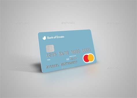Credit / Bank / Gift / Discount / Club Card Mock-up By