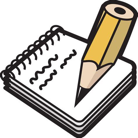 onlinelabels clip art notepad