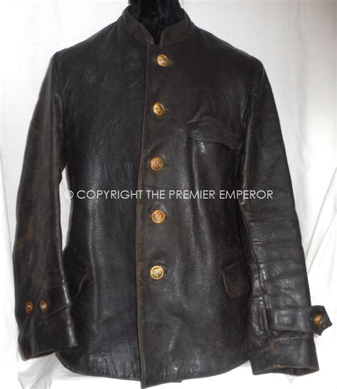 German U Boat Memorabilia by German Kreigsmarine U Boat Crew Leather Jacket Circa 1940