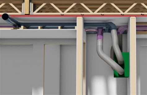 ventilation  separation coupe feu habitation