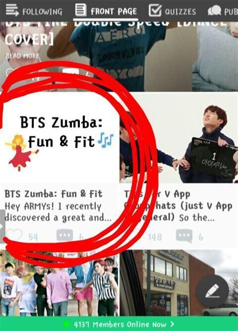 Bts Zumba Fun & Fit  Army's Amino