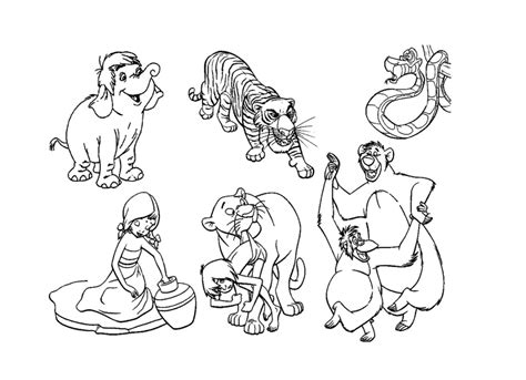 Printable The-jungle-book Pictures