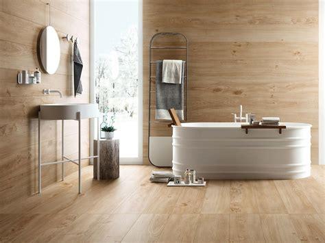 bagno effetto legno rivestimenti bagno esempi da copiare silvestri
