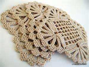 Crochet Doily Coaster Pattern