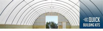 Fabric Building Structures Profiles Natural Banner Animated