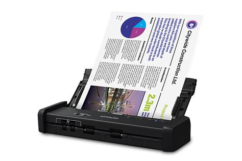 Scanner Portátil Duplex de Documentos Epson WorkForce ES