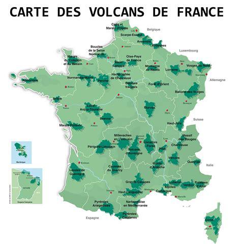 Carte Des Volcans Actifs Dans Le Monde by Carte Des Volcans En Arts Et Voyages