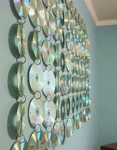 Teen Room CD Hanging | Cd Diy, Music Wall and Wall Hangings