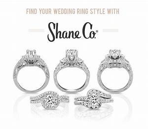 Find your wedding ring style with shane co for Wedding ring companies