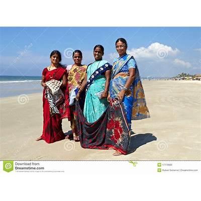 Indian women of goa area editorial stock photo. Image