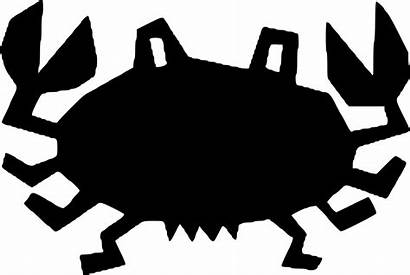 Crab Clipart King Seafood Transparent Silhouette Fiddler