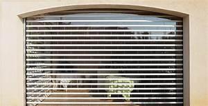 Rideau Volet Roulant : volet rideau transparent de s curit alu phil services ~ Melissatoandfro.com Idées de Décoration