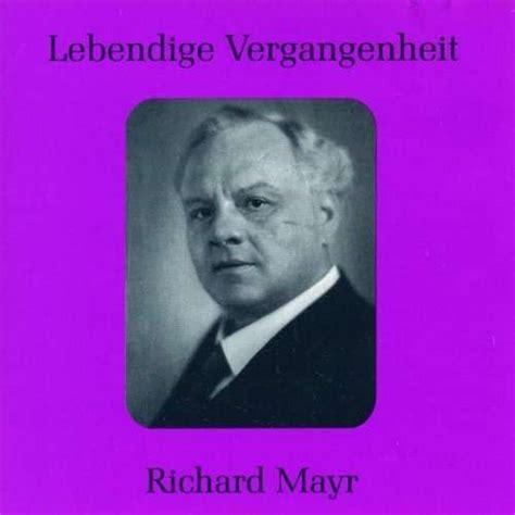 richard mayr singt arien lieder cd jpc