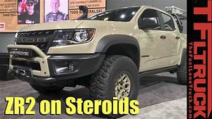 Stock Chevy Colorado Zr2 Not Good Enough  How About An Aev