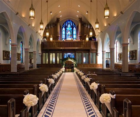 creative and church decorations for weddings