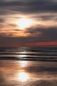 Sunset at Long Beach Washington