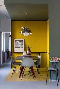 peinture jaune pastel elegant peinture salon jaune u With exceptional couleur tendance peinture salon 5 la couleur jaune moutarde nouvelle tendance dans l