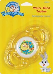 LOONEY TUNES WATER-FILLED TEETHER, TAZ, TWEETY BIRD, BUGS ...