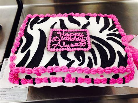 custome cake zebra walmart   girl pinterest