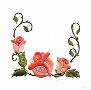 Free Rose Flower Border, Download Free Clip Art, Free Clip ...