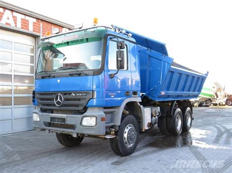 Great savings & free delivery / collection on many items. Mercedes-Benz Actros 3344AK 6x6 Meiller 3-Achs Allradkipper, 2006, Germany - Used tipper trucks ...