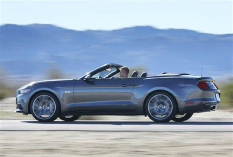 ford mustang convertible boosts   fun     tops  ny daily news