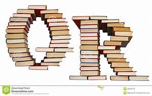 alphabet made out of books letters q and r stock photo With lettering books alphabets