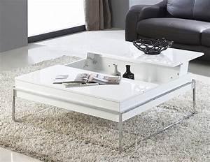 Table De Salon Transformable : choisir une table basse meuble ~ Teatrodelosmanantiales.com Idées de Décoration