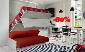 Lit Placard Ikea : lit mural ikea rabais exceptionnels sur ce meuble escamotable ~ Nature-et-papiers.com Idées de Décoration
