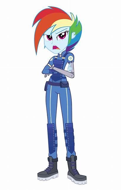 Dash Rainbow War Crystal Timeline Equestria Pony
