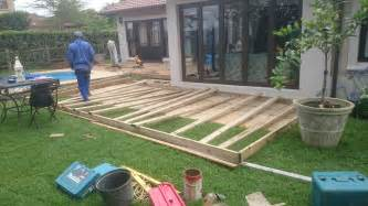 diy timber decking in durban the wood joint