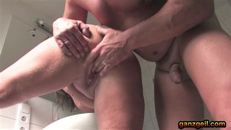 Chubby German Mature Plays With A Big Dick On The Toilet Jp