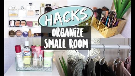 Hacks To Organize A Small Room  Nyc Apartment Youtube