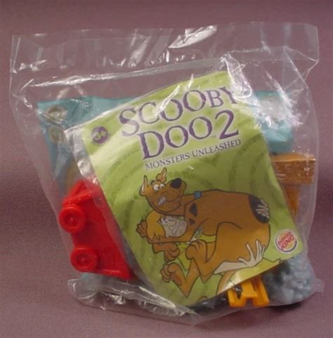 Amazon Com Burger King The Lord Of The Burger King 2003 Scooby Doo Mine Car Launcher Sealed