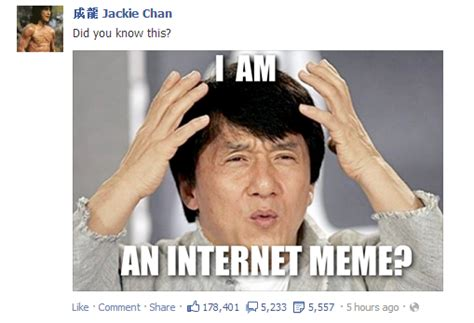Meme What The Fuck - image gallery jackie chan confused