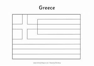 greece flag printables colouring flag flag jigsaw With greek flag template