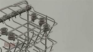 Lg Dishwasher Upper Dish Rack Roller Replacement  4581dd3002a