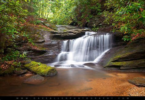 South Carolina Waterfall Landscape Photography
