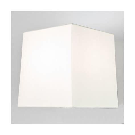 abat jour carre blanc abat jour azumi carr 233 blanc astro lighting