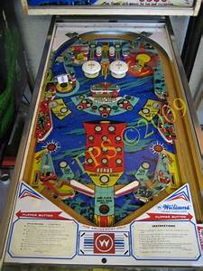 Fred´s Pinball Station - Williams Space Mission Pinball ...