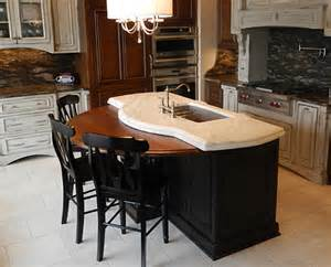 wooden kitchen island wooden kitchen island top traditional kitchen other by j aaron custom wood countertops