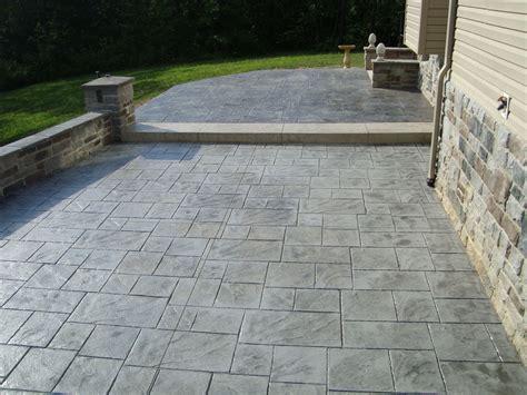 concrete color and design sted concrete patio for pleasure amaza design