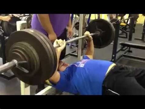 Will Geary  400 Lb Raw Bench Press Youtube